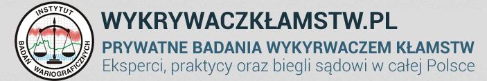 Badania na wykrywaczu kłamstw w całej Polsce